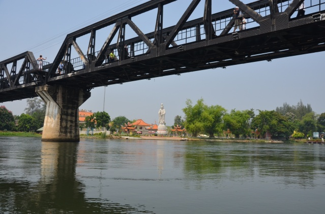 Death Bridge over River Kwai