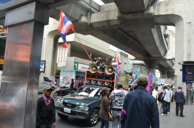 Anti-governmental protestors, Bangkok