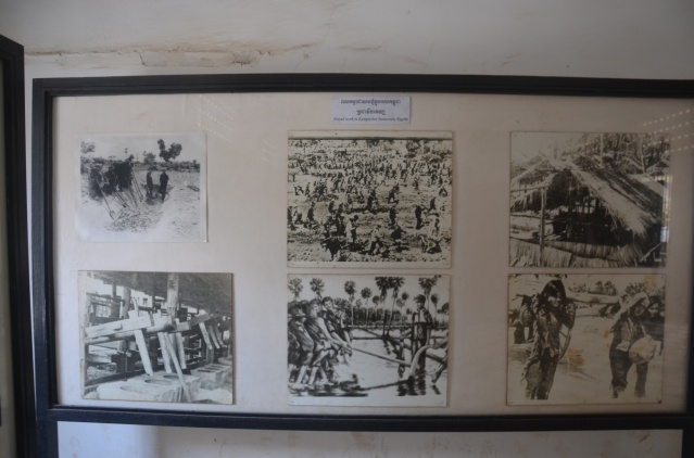 Pictures displaying the brutality of the Khmer Rouge