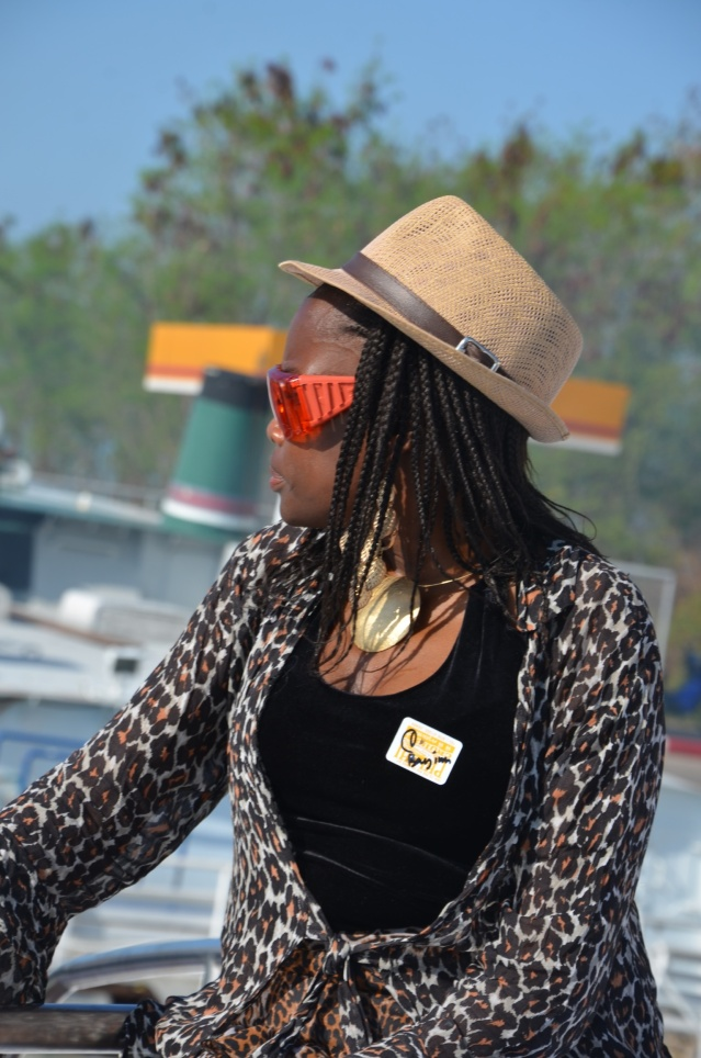 Black solo woman traveller