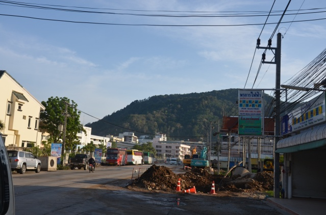 Construction work in Phuket