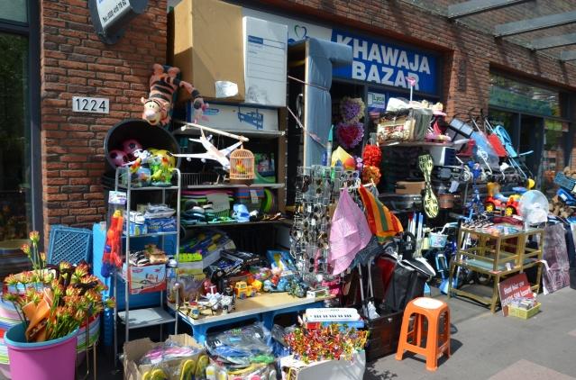 Multi-purpose store in Bijlmer.