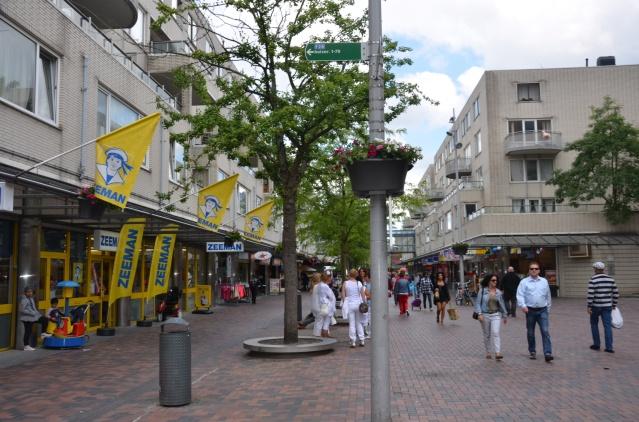 Shopping street, Amsterdam Bijlmer