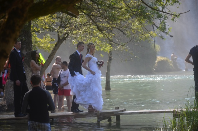 Wedding at Kravice waterfalls