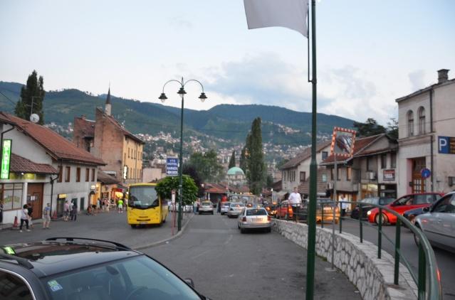 Sarajevo old town bascarsija