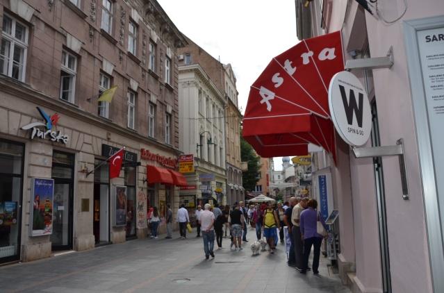 Western side of Sarajevo