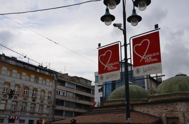 The Sarajevo film festival adverts