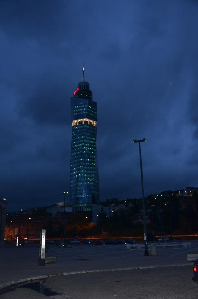 Avaz twist tower, Sarajevo.