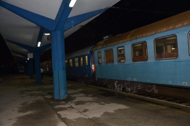 Train ride has arrived at Sarajevo