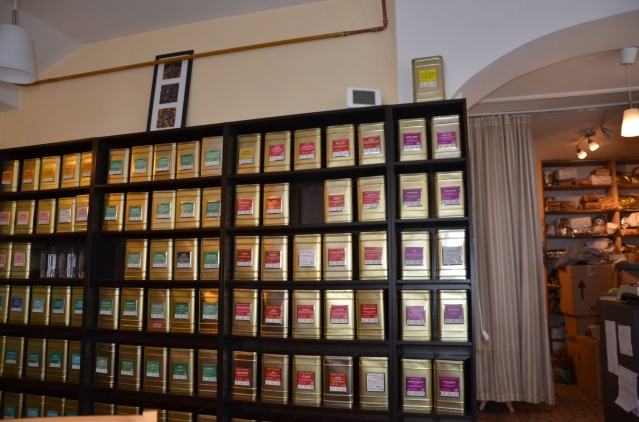 Assortment of tea brands from all over the world