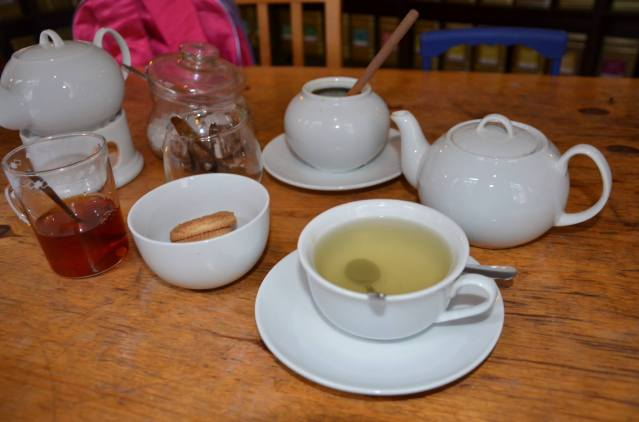 Our cups of tea