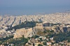 View from Lykavittos Hill of the Parthenon and the Port of Pireas. (Picture courtesy of Wikipedia)