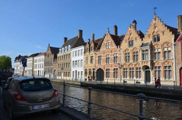 Beautiful canal in Brugge