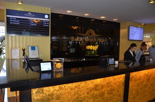Reception area, Baltic Beach hotel