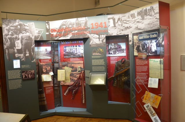 Inside the Museum of the occupation