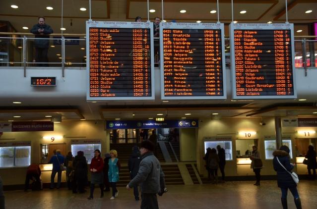 Central station, Riga