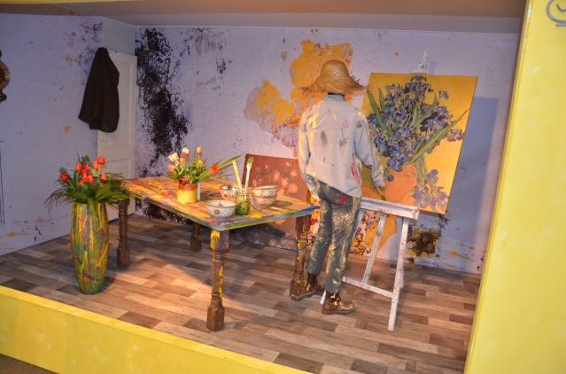 'Van Gogh' at work