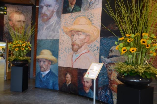 Vincent Van Gogh self-potraits