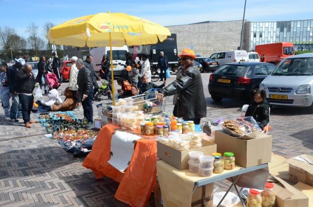 Salesmanship, King's Day 2015