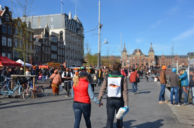 King's Day, Amsterdam 2015.