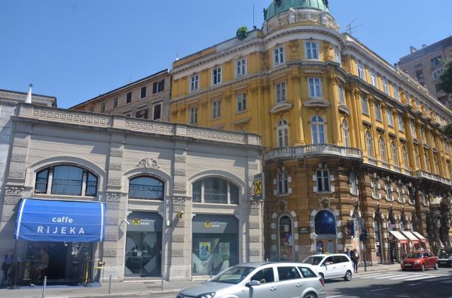 A cafe in Rijeka