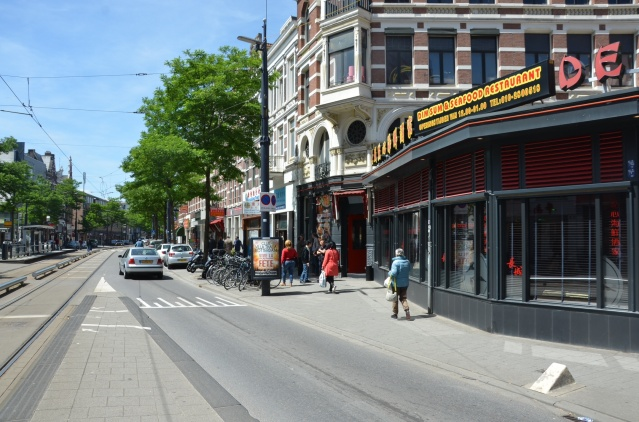Chinese restaurant along West-Kruiskade