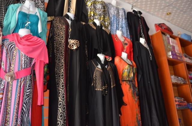 Purchasing an abaya