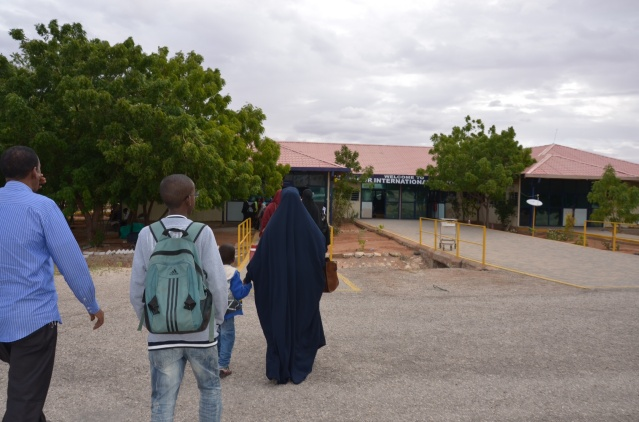 Immigration at Wajir town