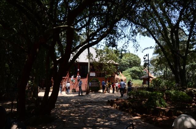 Giraffe centre, Nairobi.