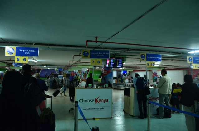 Jomo Kenyatta International Airport (J.K.I.A).