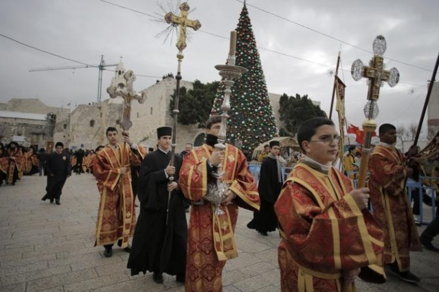 Orthodox Christians begin their Christmas celebrations