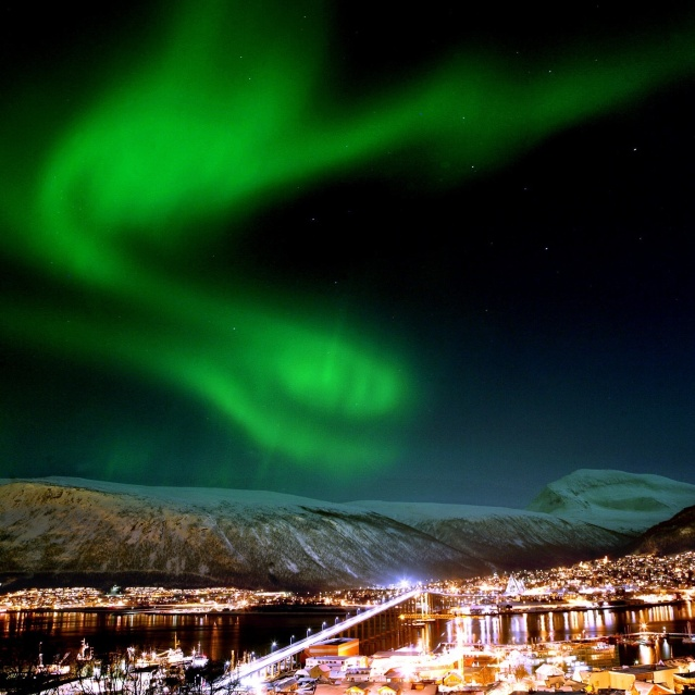 Aurora Borealis or The Northern lights over Norway (Credit: VisitNorway)