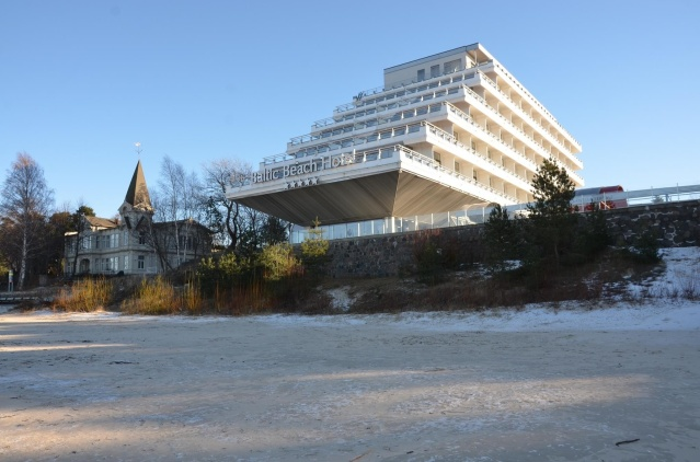The Baltic Beach hotel, Jurmala, Latvia.