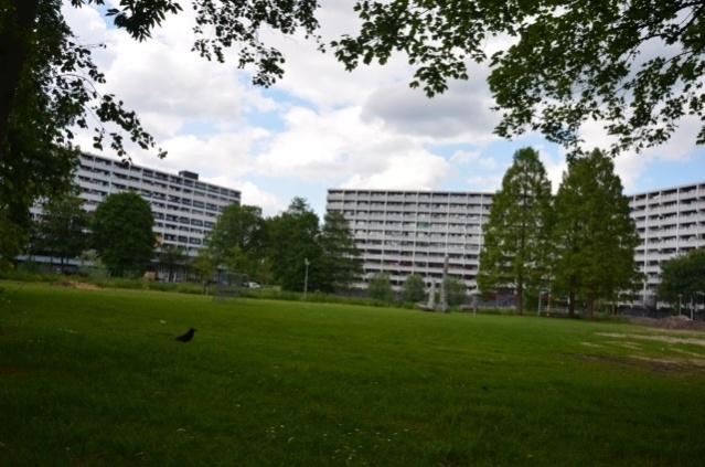 Apartment blocks, Bijlmer Amsterdam