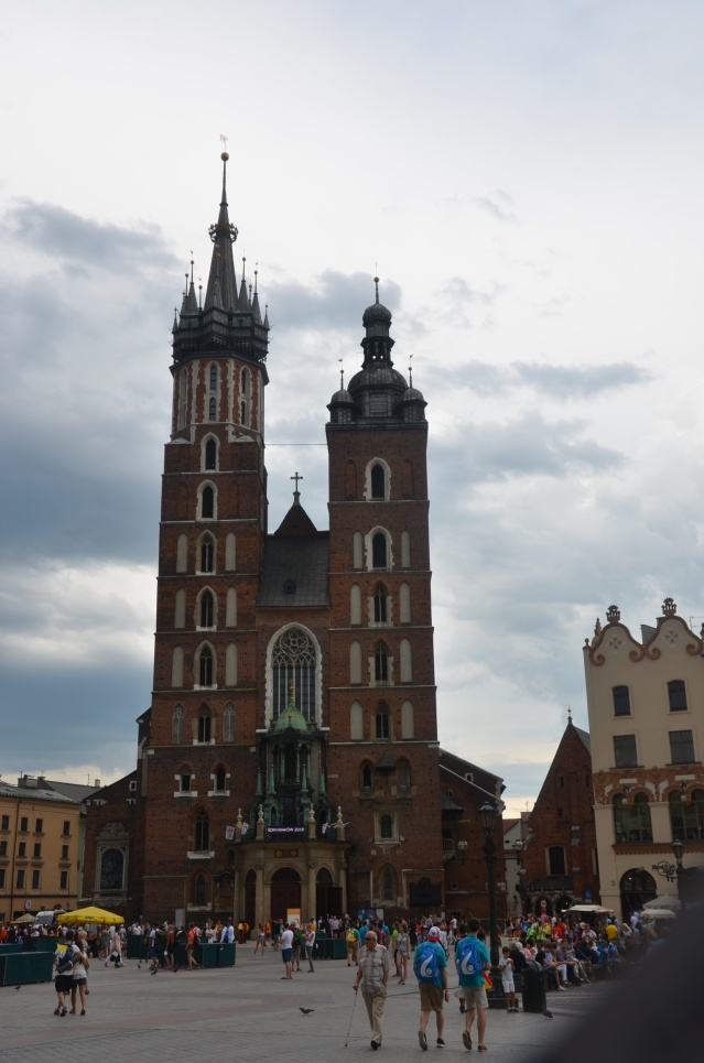 St Mary's cathedral, Krakow.