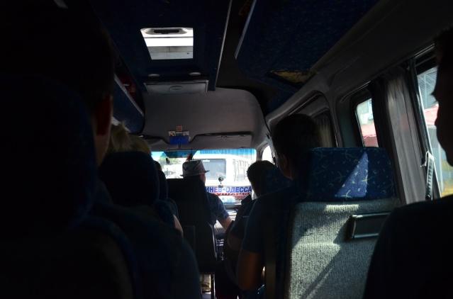 Our mını-van to Moldova