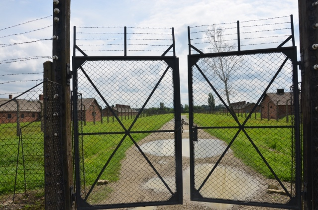 History lies behind the fences of Auschwitz- Birkenau