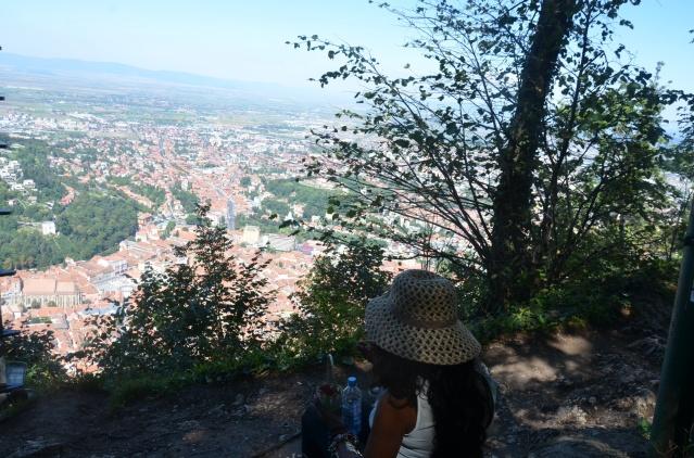Overlooking Brasov